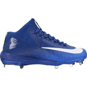 Nike Force Mike Trout 3 Blue Metal Baseball Cleat